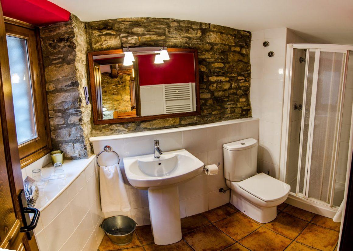 Casa Cruz Boltaña - Casa Rural - Habitación Doble - Ginuábel - Baño