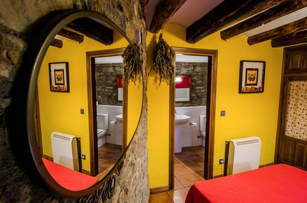 Casa Cruz Boltañaa - Casa Rural - Habitación doble interior
